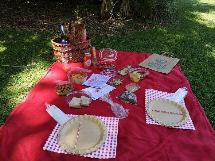 picnic templo debod