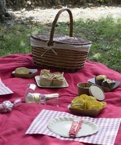 picnic romántico cesta